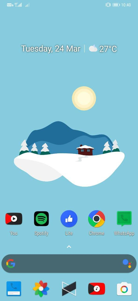 Material Islands- Best Live Wallpaper Apps for Android