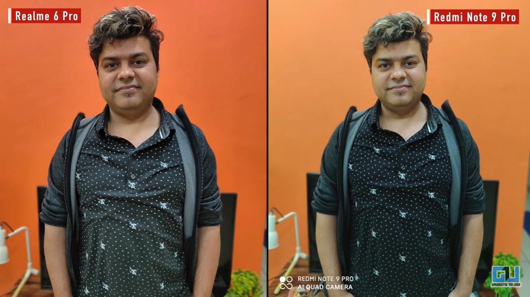 Redmi Note 9 Pro vs Realme 6 Pro Camera