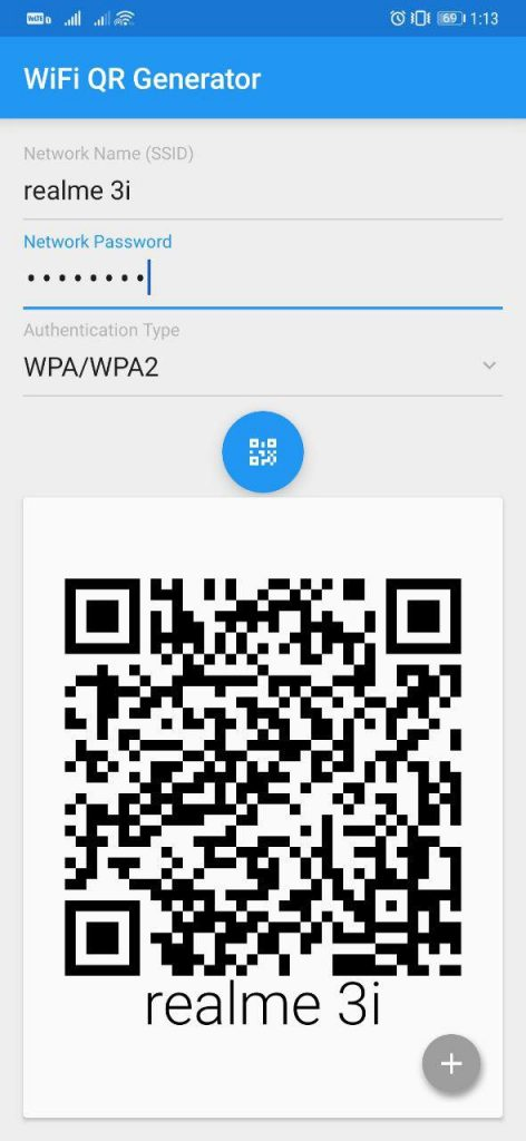 Share WiFi without Sharing Password using QR code