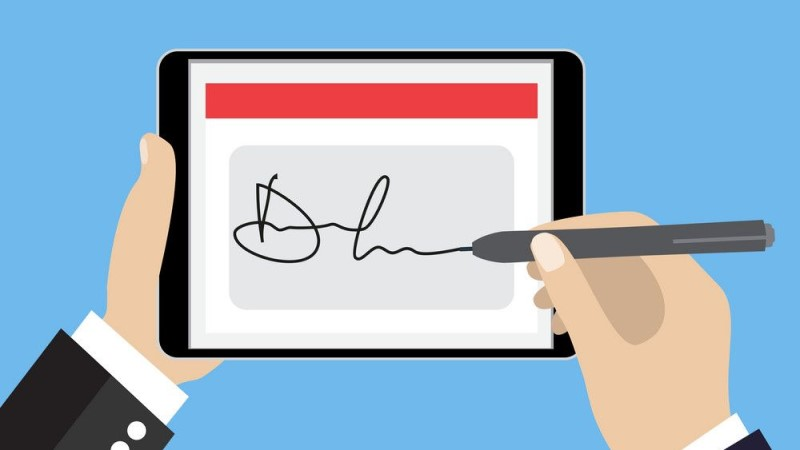 How to digitally sign a PDF document on your smartphone