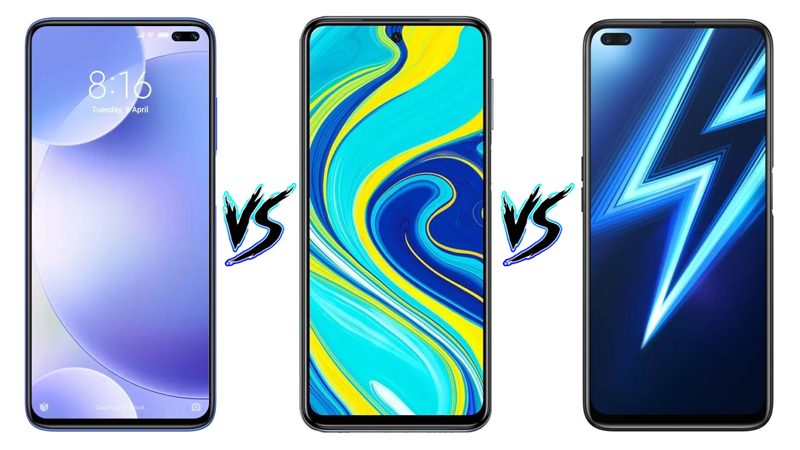 POCO X2 vs Redmi Note 9 Pro vs Realme 6 Pro: Which one to Buy?