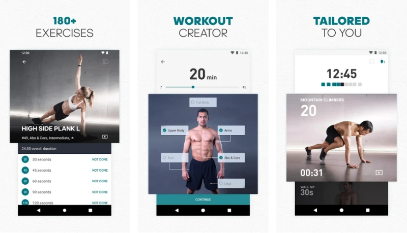 Adidas Training- - Fitness Apps to Workout at Home