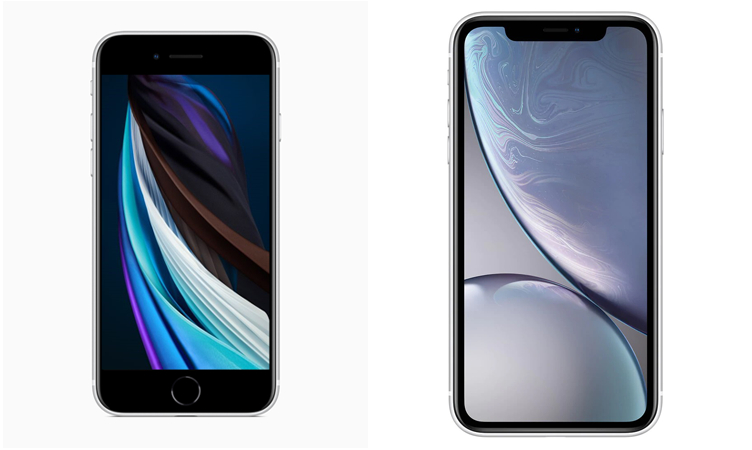 iPhone SE vs iPhone XR