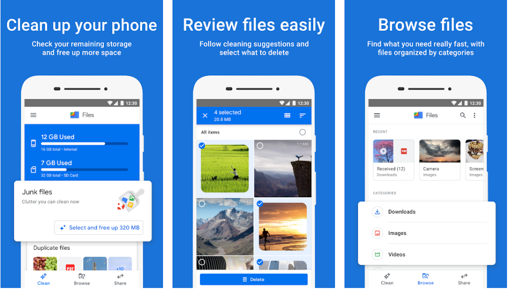 Files by Google- Ad-Free File Manager Apps For Android