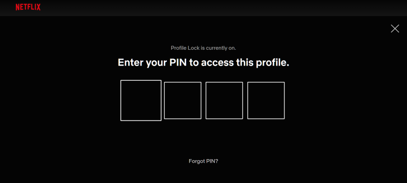 Netflix Hacks- Profile Lock