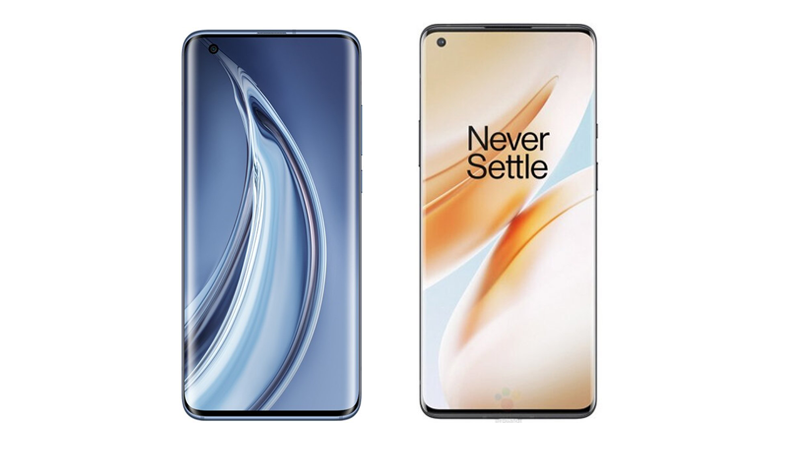 Mi 10 5G vs OnePlus 8 Pro Display