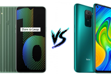Realme Narzo 10 vs Redmi Note 9