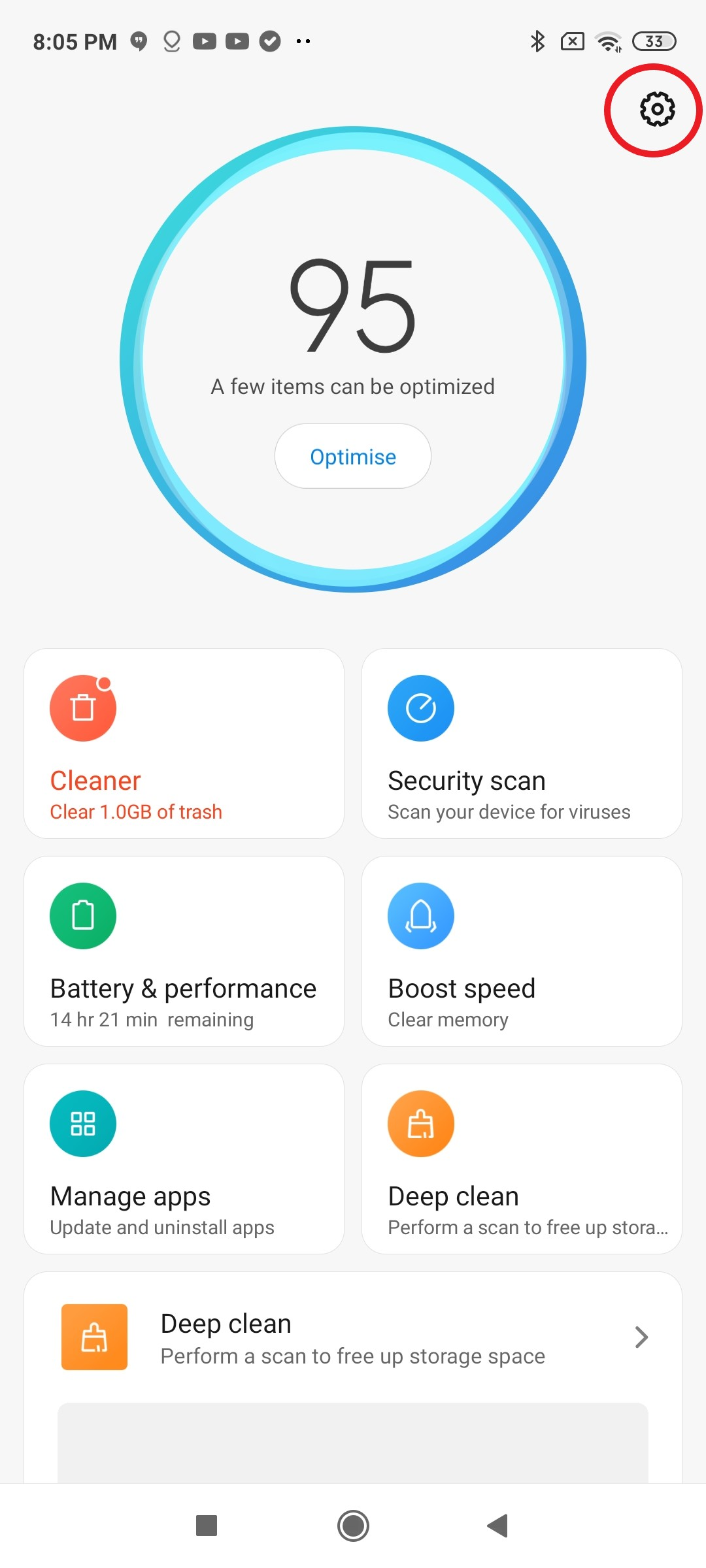 Stop Data Collection on Xiaomi phones: Mi Security