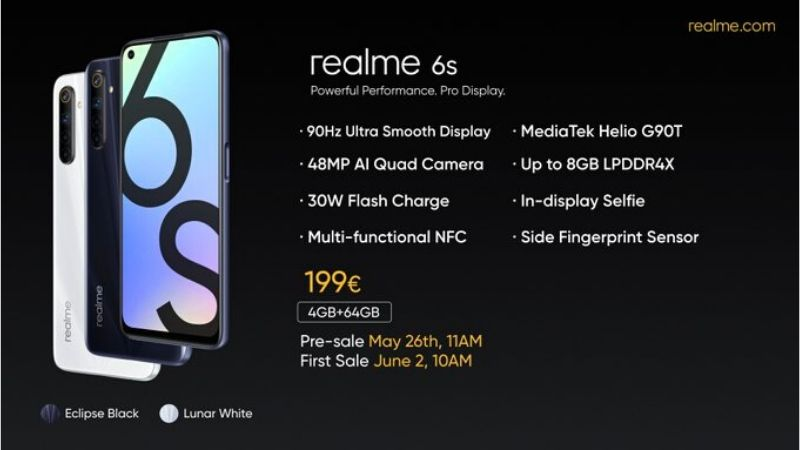 Realme 6s India Launch: Full Specs, Price & Availability in India