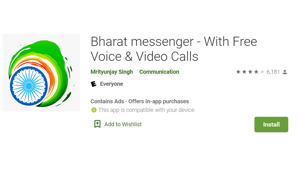 The Truth of viral Bharat Messenger App in India