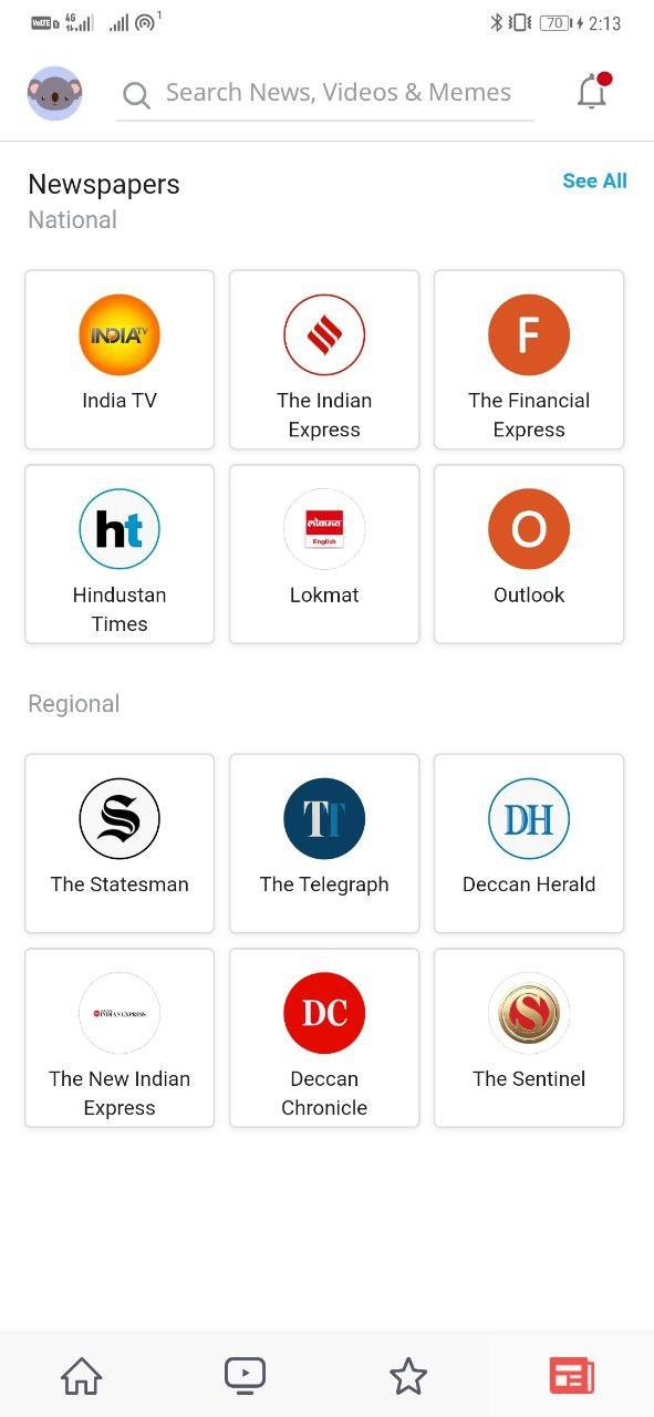DailyHunt- Non-Chinese News App