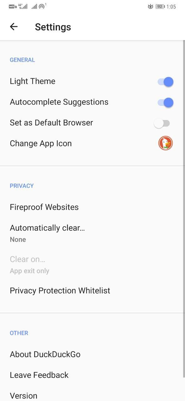 Duck Duck Go- Non-Chinese Alternatives to UC Browser for Android