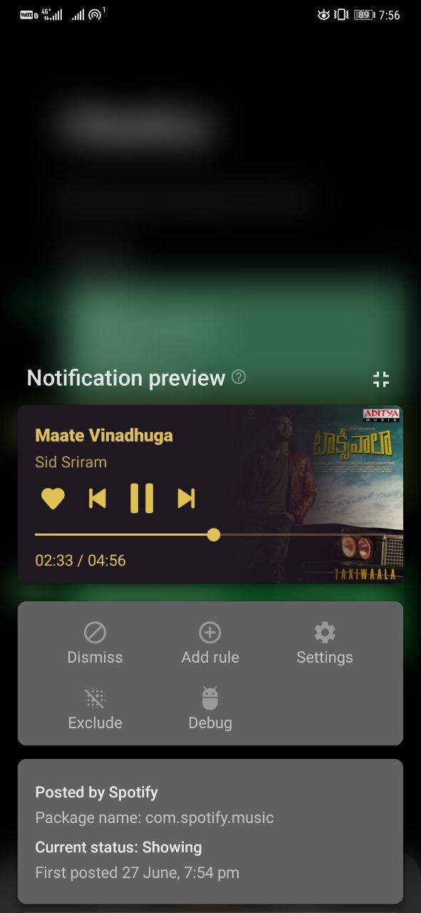 Read missed notifications on Android