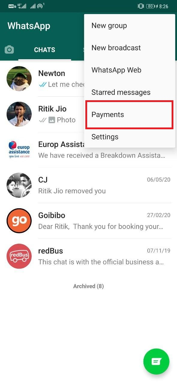 How to Setup WhatsApp Payments