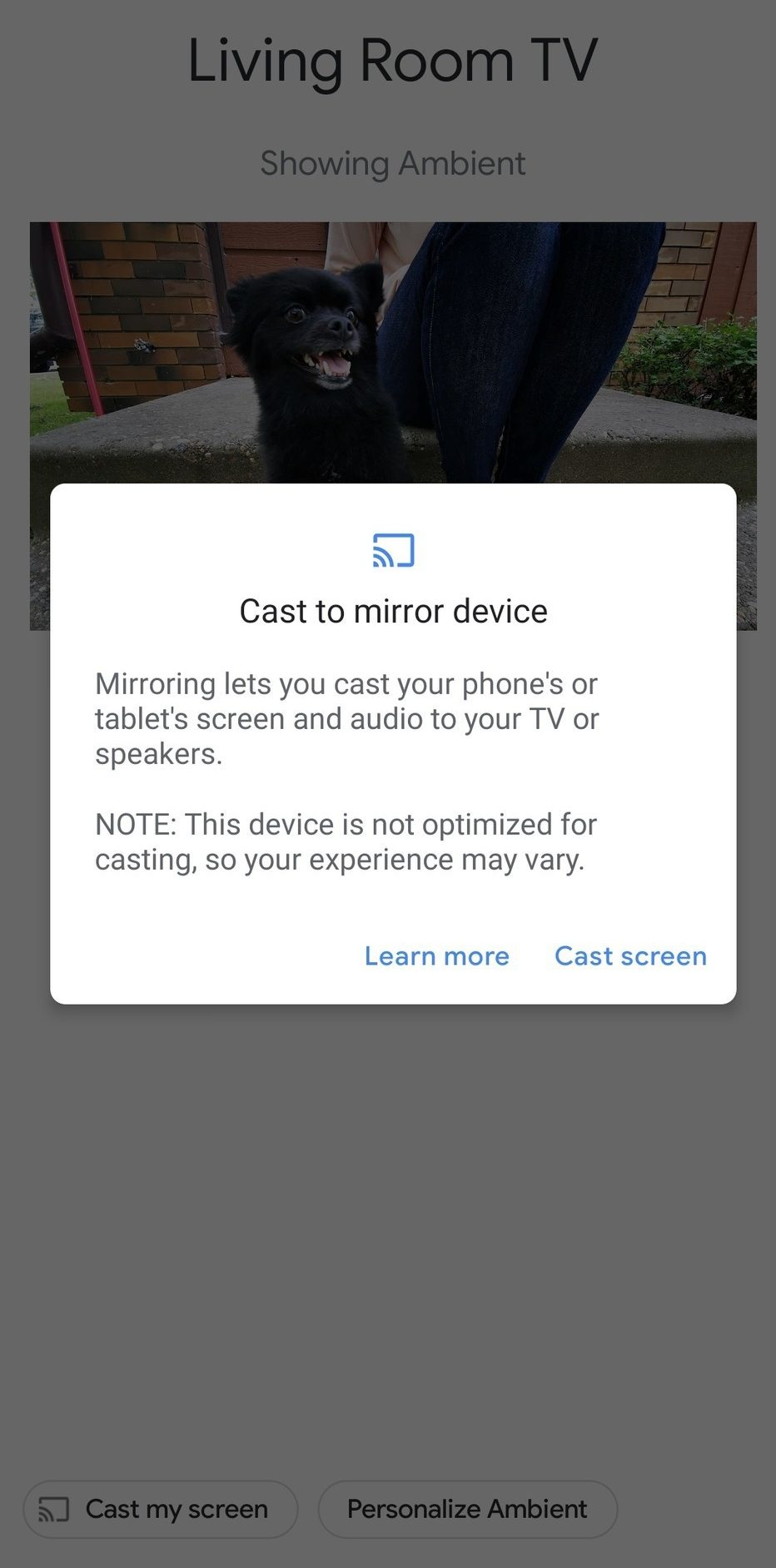 Cast Android Screen To Your TV With Chromecast