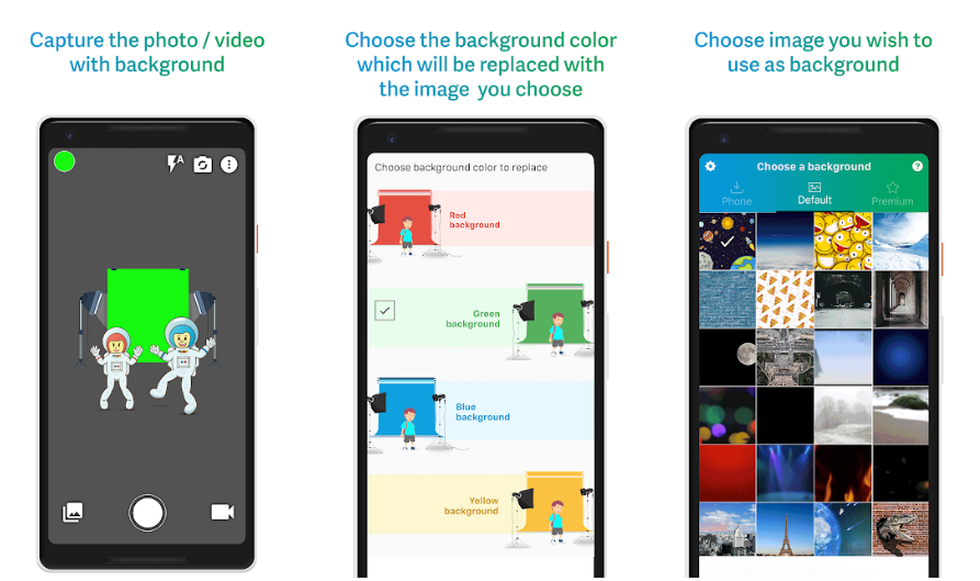 Chromavid- ChromaKey Green Screen for Android and iOS