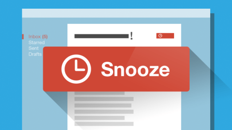 What is Snooze in Gmail and How to Use it?