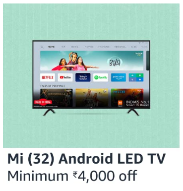 Amazon Prime Day Sale 2020 Deals on Smart TV