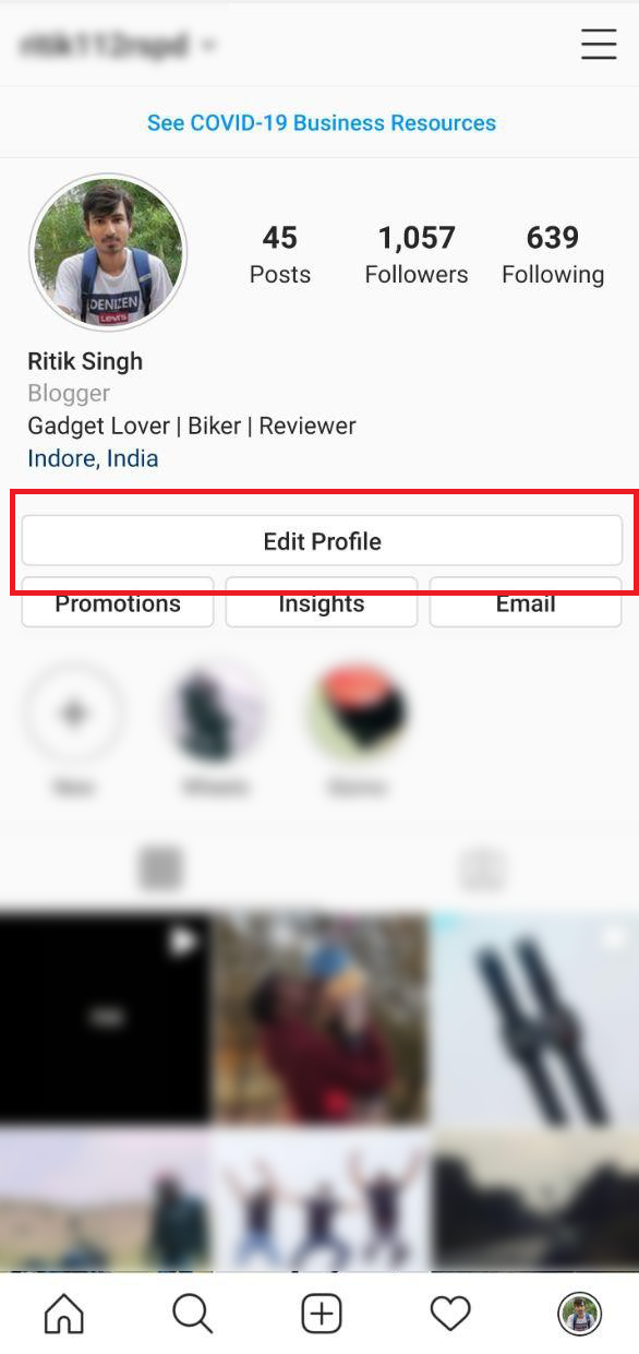 Remove Your Phone Number from Instagram