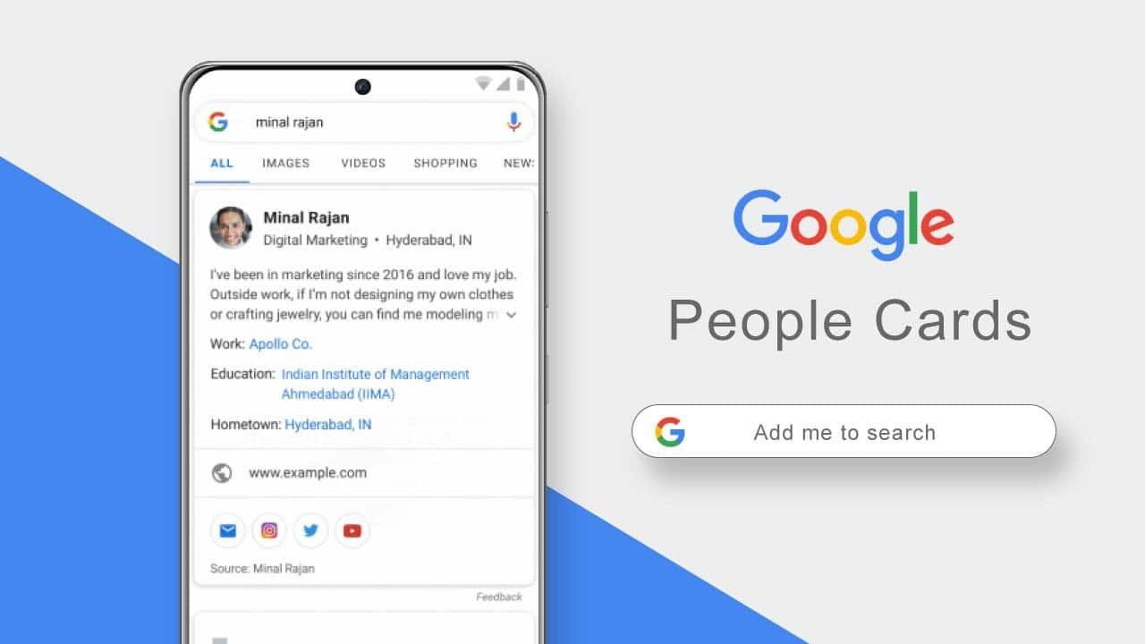Google People Cards: How to Add Yourself to Google Search