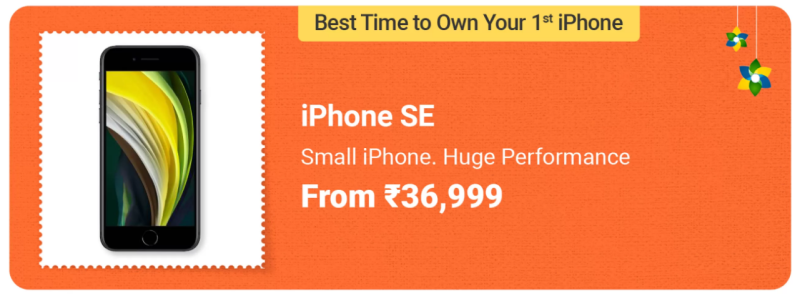 iPhone SE 2020- Best Smartphone Deals in Flipkart Big Saving Days Sale