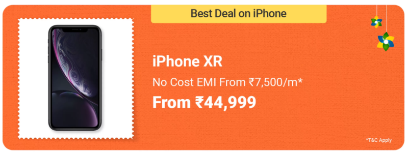 iPhone XR- Best Smartphone Deals in Flipkart Big Saving Days Sale