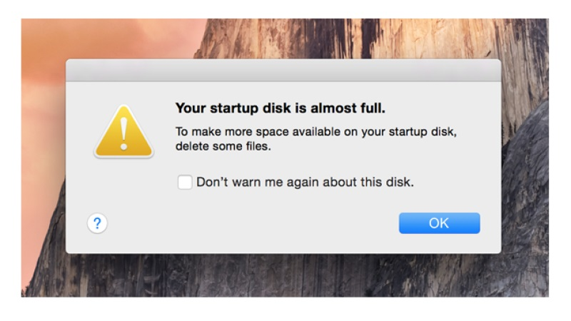 How To Avoid Disk Full Message On Mac, Fix It Automatically