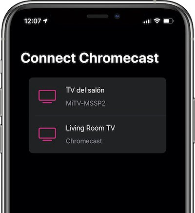 Mirror your iPhone's Screen to Chromecast