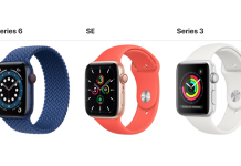 Apple Watch Series 6 vs Apple Watch SE vs Apple Watch Series 3