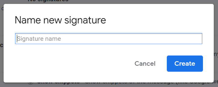 Use Multiple Email Signatures in Gmail
