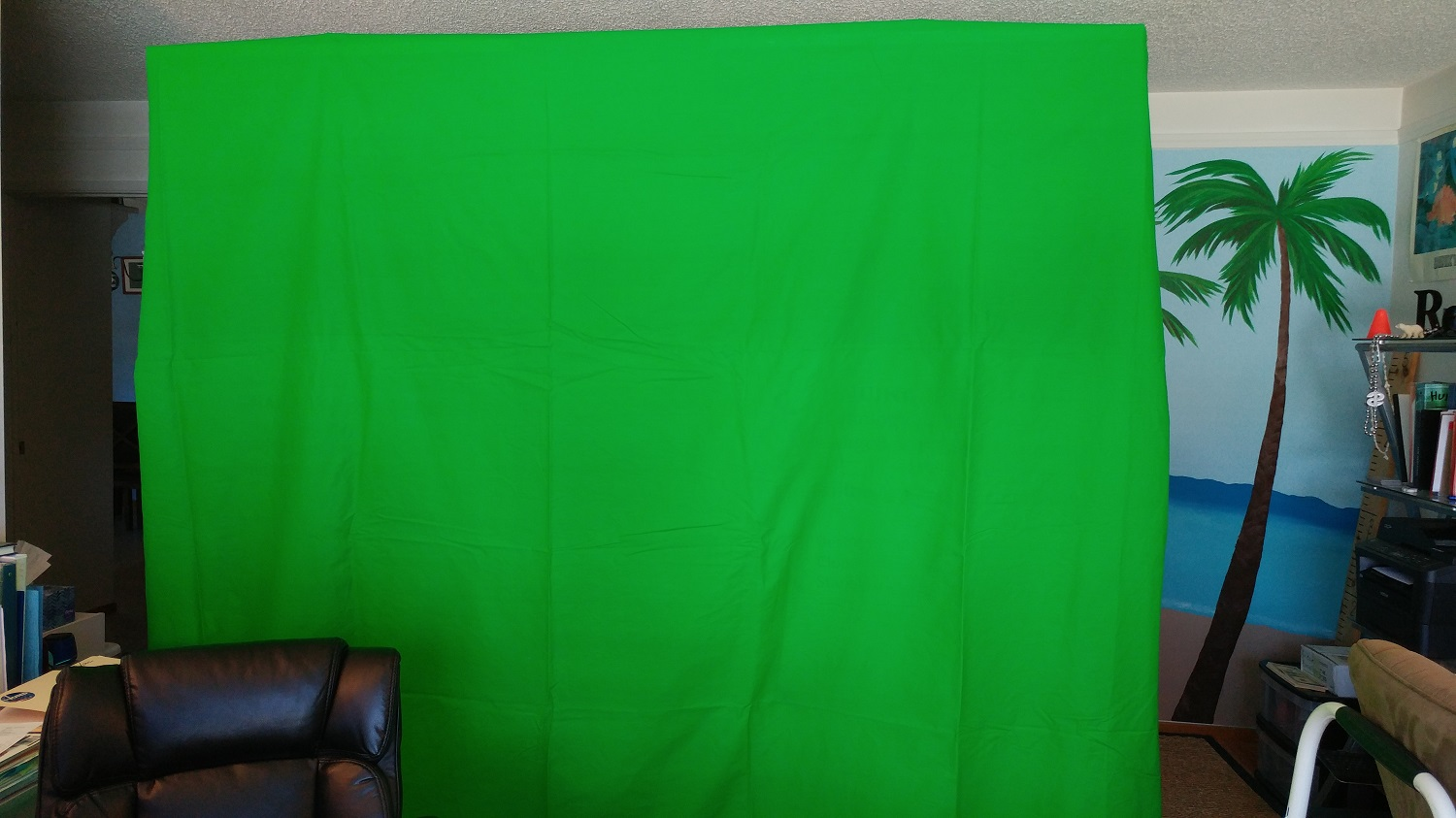 Consumer Electronics Gadgets How To Use Green Screen To Change Your Zoom Background