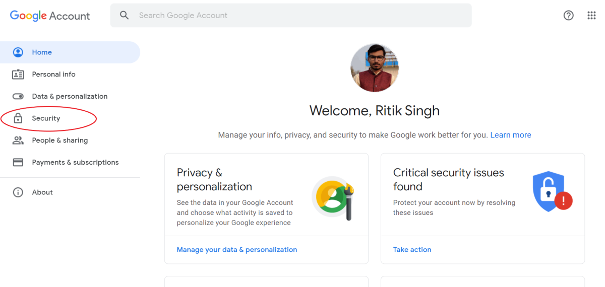 Find Out If Somone Has Access To Your Google Account