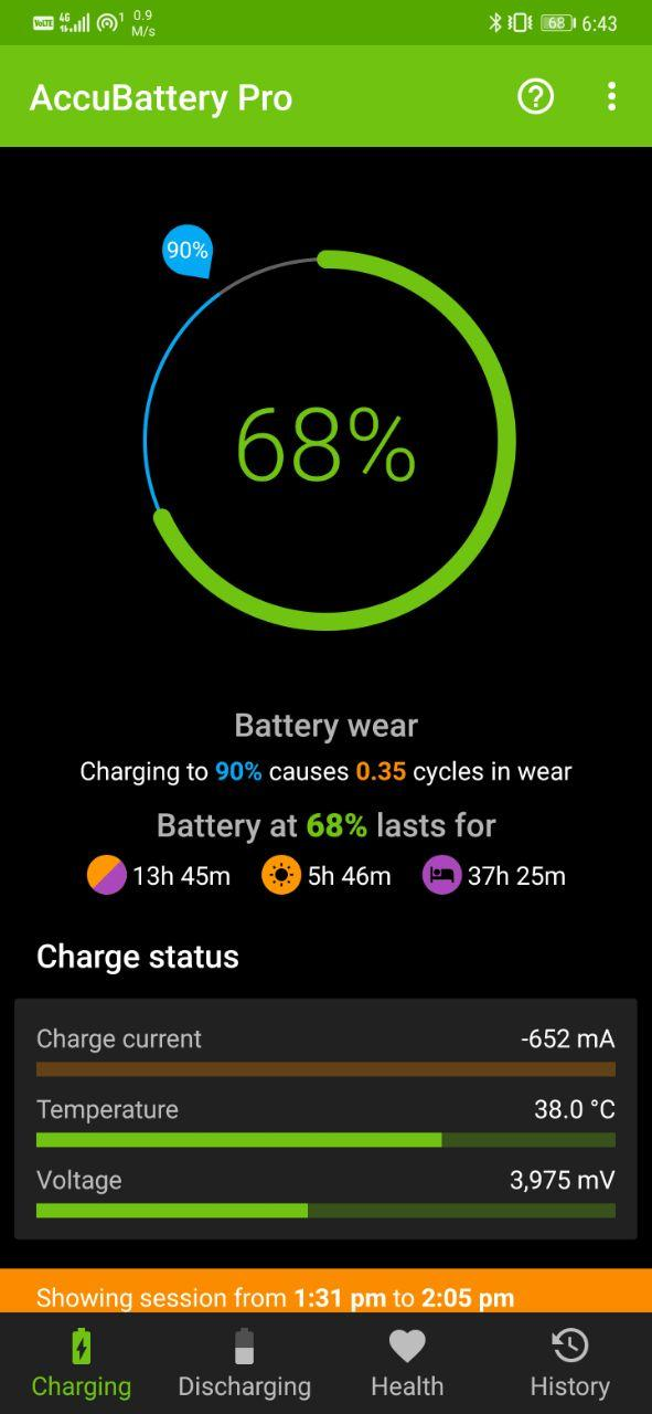 Check Android Phone's Battery Health