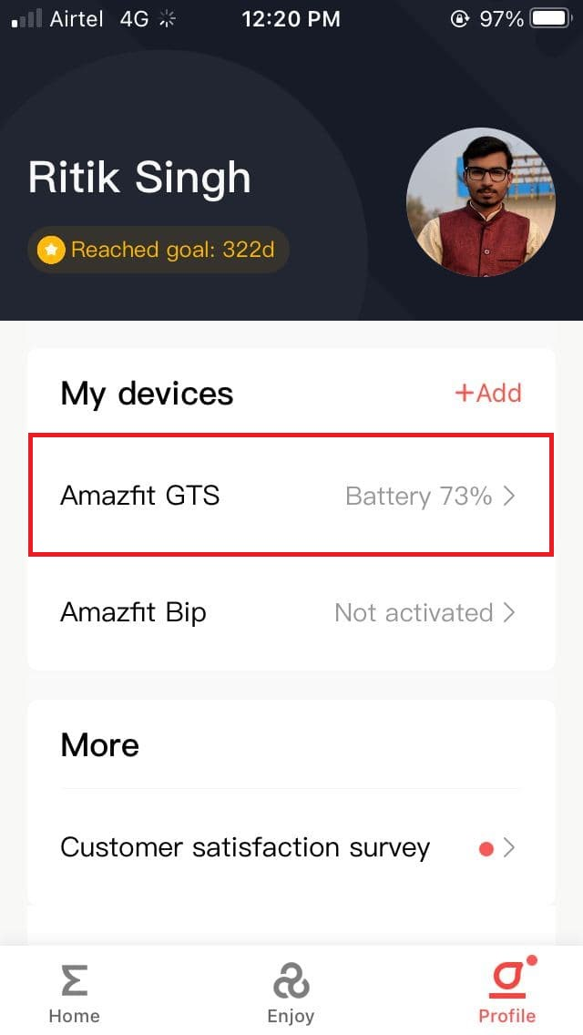 Save Battery on Amazfit GTS