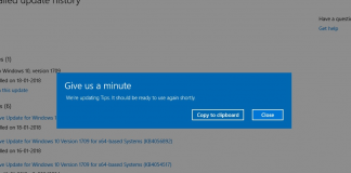 Fix 'Give Us a Minute' App Open Error on Windows 10