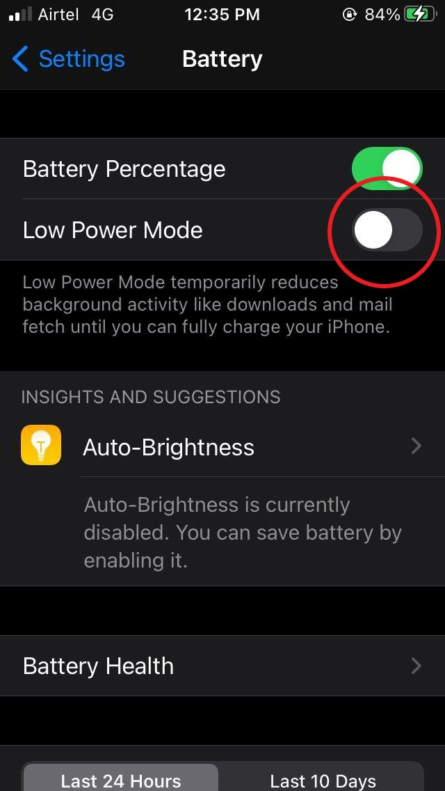 Tips to Save Battery on iOS 14