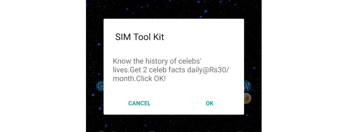 Stop SIM Toolkit Popups or Flash Messages on Android