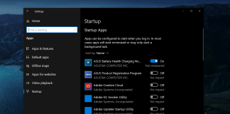 How to Stop Apps from Launching at Startup on Windows 10