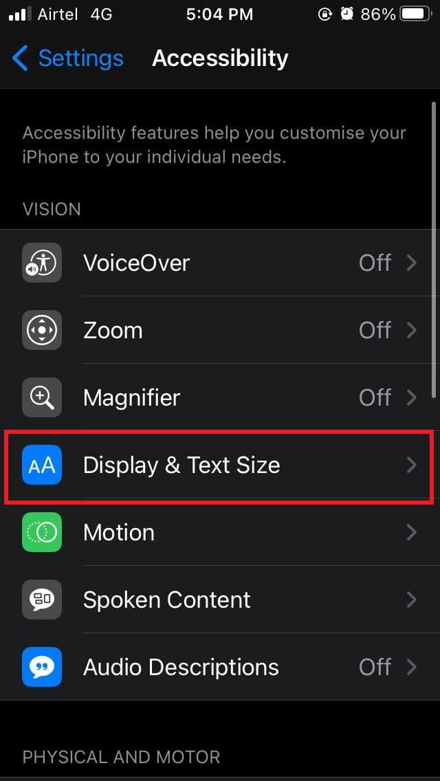nable or Disable Auto-Brightness on iPhone Running iOS 14