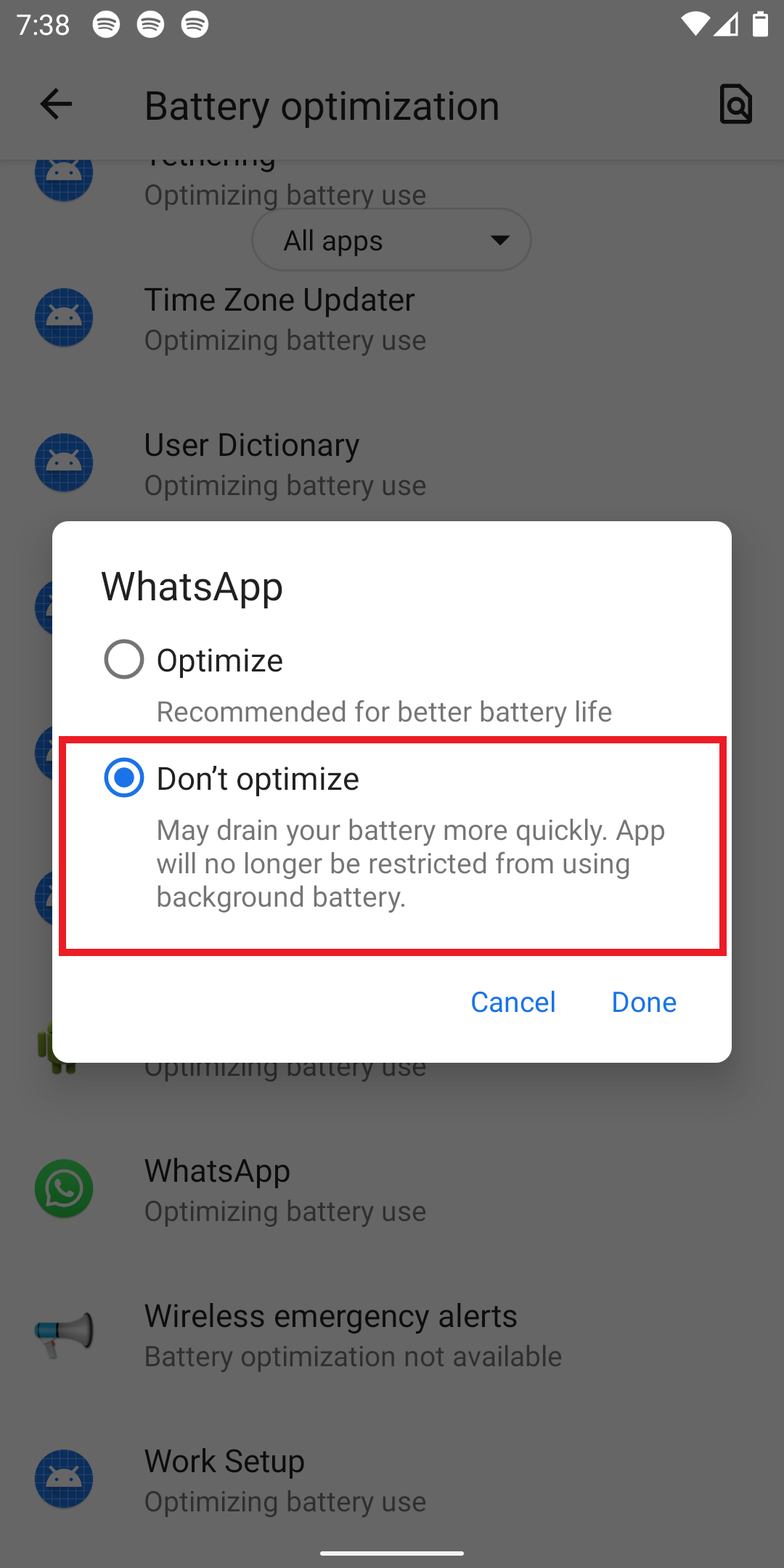 Fix WhatsApp Taking Too Much Time To Send Video