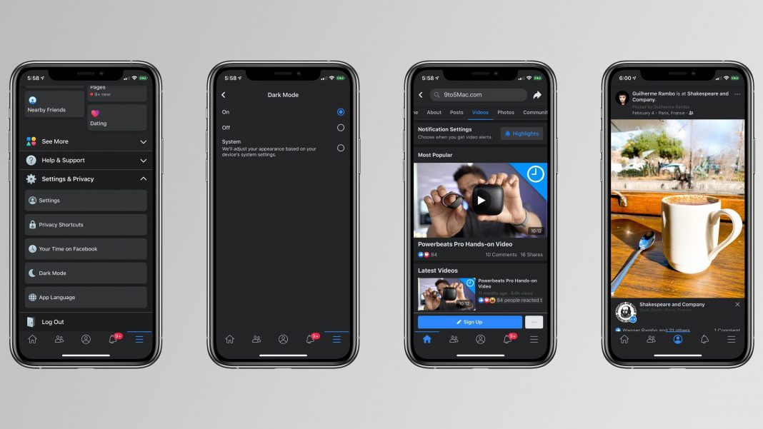 How to Enable Dark Mode in Facebook App for Android & iOS