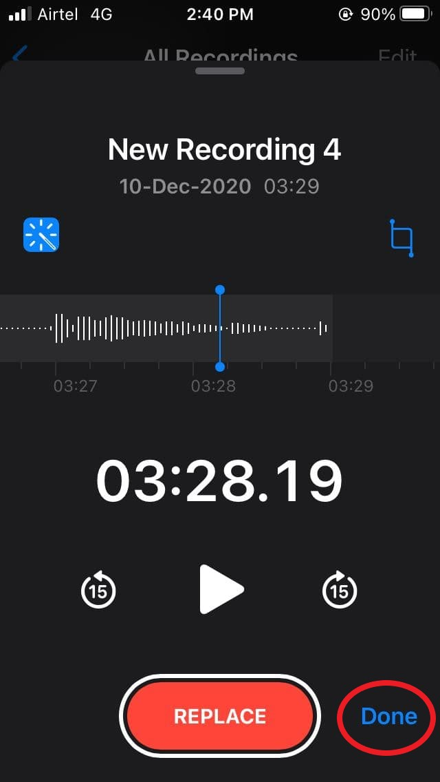 Remove Background Noise from iPhone Voice Recording