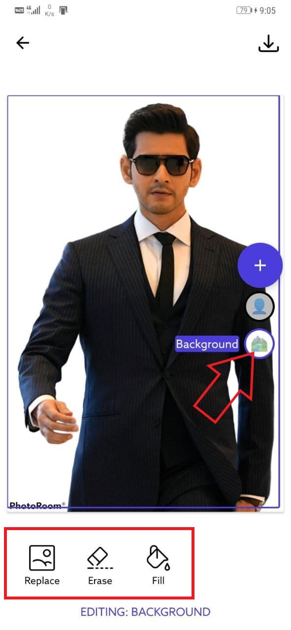 Remove Image Background and Replace It In 2 Minutes On Android