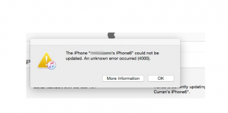 3 Ways To Fix iPhone Could Not Be Updated Error 4000 in iTunes
