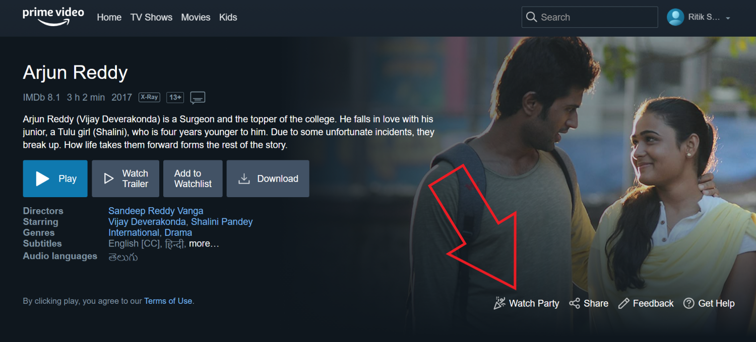 Use Watch Party in Amazon Prime Video to Stream Movies & TV with Friends