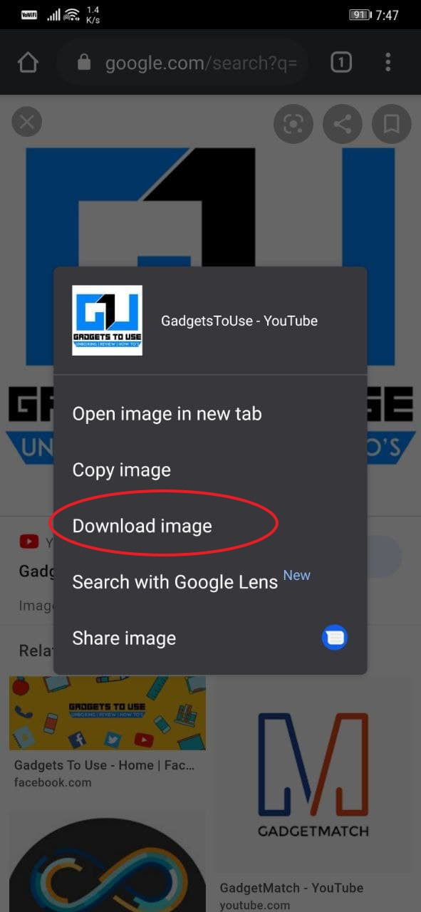 Fix Can't Download Images from Chrome on Android