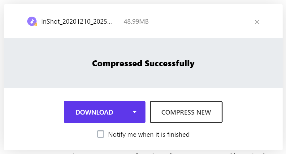 Compress Video Online on Phone & PC