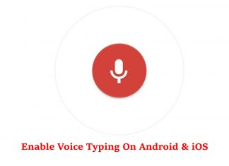 Voice Typing on Android and iOS