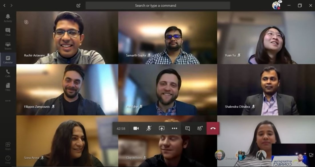Data Consumed by Microsoft Teams Video Call in 1 Hour