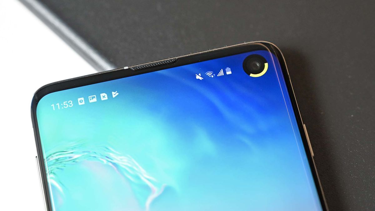 Use Punch-Hole Camera Notch as Battery Indicator On Android